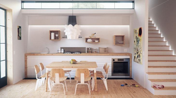 キッチンだって可愛く!カフェ風のキッチンを作るインテリアとは?